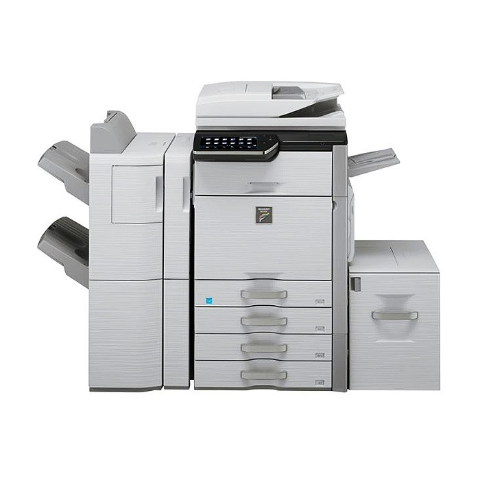 上海 夏普MX-4110彩色复印机 95成新(黑白6500张,彩色600张)