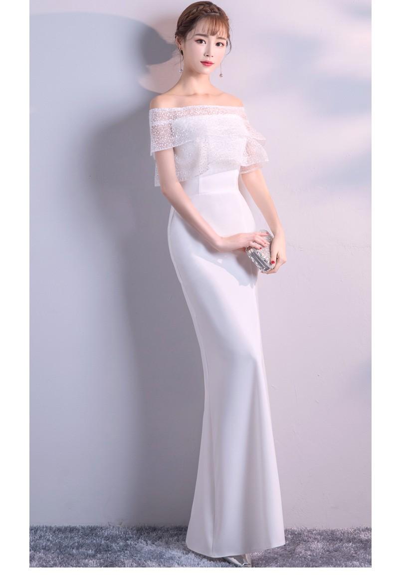 白色礼服裙女(提前预定款)