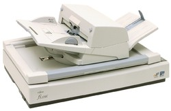 富士通彩色自动双面A3高速扫描仪出租