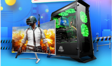 办公实惠电脑主机台式家用游戏组装机整机