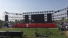 舞臺燈光、音響桁架、航拍攝影、LED大屏、舞臺道具