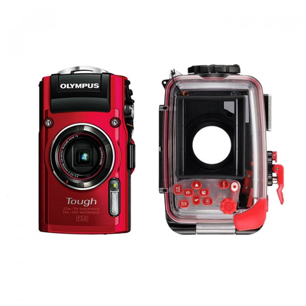奥林巴斯防水相机+原装防水壳套装