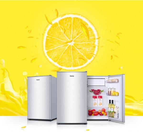 0.9米 单/双门 98升 冷冻+冷藏电冰箱【支持租/售】【信用免押】