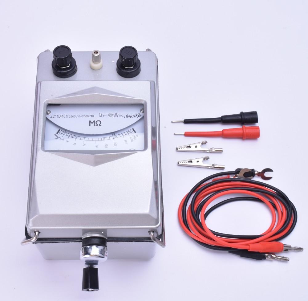 南京金川zc11d-10绝缘电阻测试仪