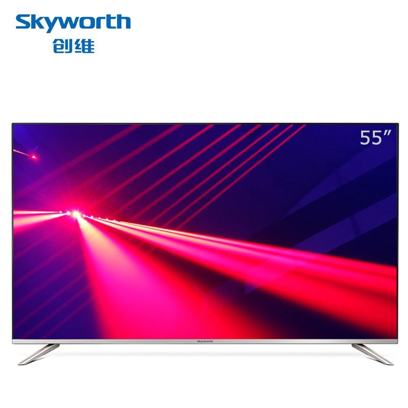 创维 55G2A 55 英寸 超高清4K彩电HDR人工智能网络平板电视机