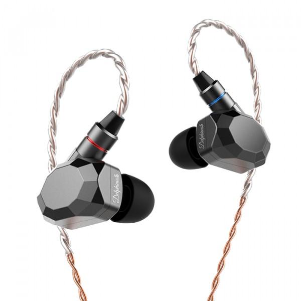 阿思翠 Delphinus 5海豚座动铁五单元耳机