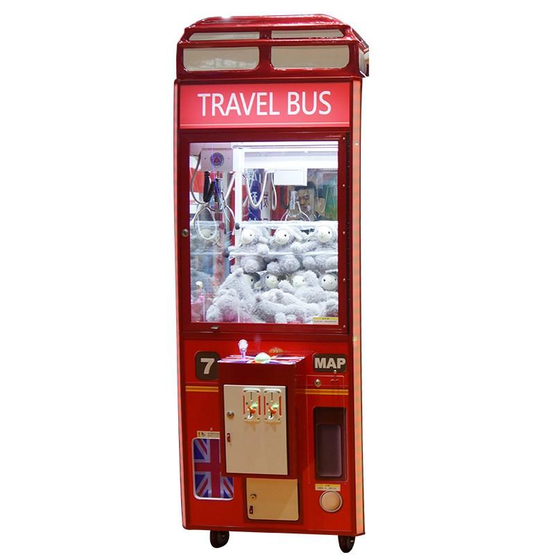 英伦风娃娃机抓烟机液晶夹公仔机投币兑币一体豪华夹娃娃机礼品机