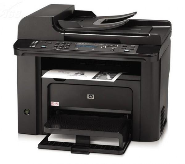 惠普M1536dnf一體機 打印復印掃描