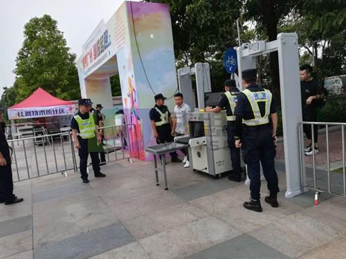 广州威思盾琶洲展馆安检机安检门租赁出租价格优惠服务好