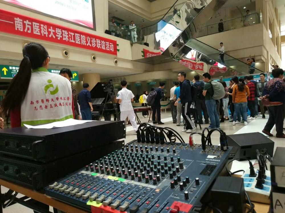 广州地区舞台音响灯光设备出租租赁