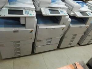 理光黑白 彩色复印机  打印 复印 双面 彩色扫描一体机