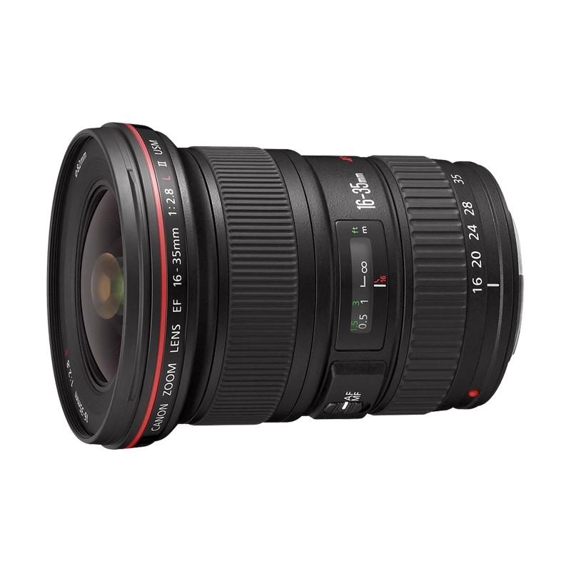 佳能(Canon)EF 16-35mm F2.8L II USM 红圈广角变焦 全画幅单反镜头