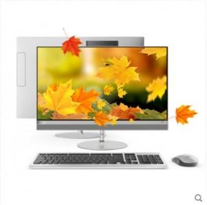 【全新正品】联想致美一体机台式电脑AIO 520 21.5英寸家用学习娱乐办公窄边框(i3/G3930 4G 1T/128G 傲腾加速内存可选)