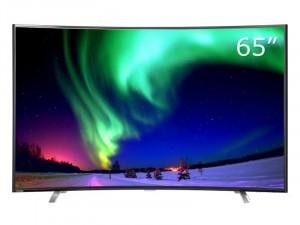 【全新正品】东芝(TOSHIBA) 65U8500C 65英寸 超薄金属曲面人工智能4K超高清语音遥控网络电视机