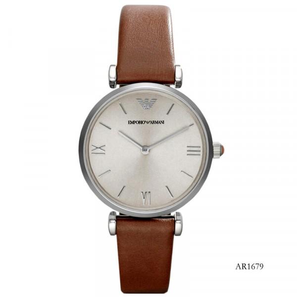 【租满即送】阿玛尼(Emporio Armani)时尚休闲简约石英女士腕表