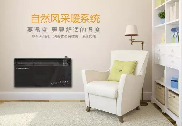 德国世保康 /SBOK 取暖器/电暖器/电暖气 欧式自然风对流式家用采暖 全房卧室采暖 智能恒温节能 2000瓦-白色-壁挂式