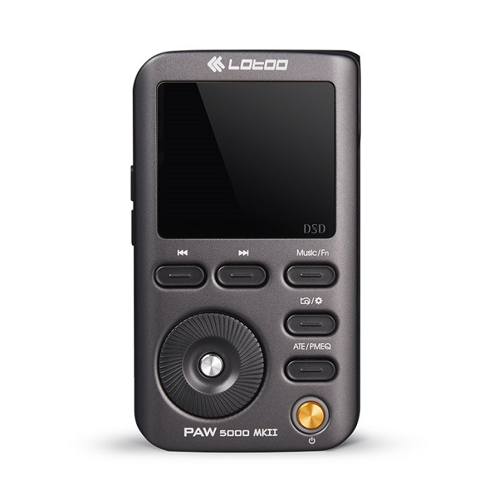 LOTOO乐图PAW5000MKII铁菊花二代HIFI无损音乐播放器便携蓝牙MP3