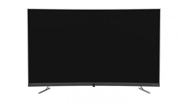 TCL 55寸 4K超窄纤薄金属边框 64位32核人工智能曲面电视