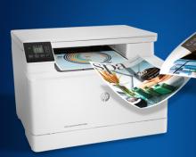 A4彩色激光打印一体机