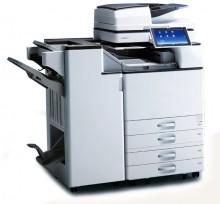 慈溪美佳  理光MP3555SP复印机  具备了三合一功能(打印、复印和扫描)的黑白激光数码复印机,还可轻松ID复印,多页合一及扫描到PC功能