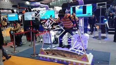 北京租赁VR冰雪设备VR滑雪模拟器租赁销售