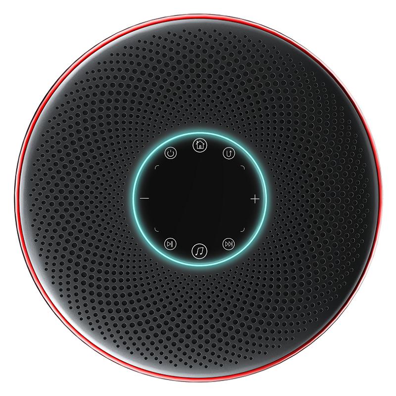 蓝纳AI智能音响投影仪N3  独立蓝牙音箱 巨幕影院 AI语音操控 便携办公微型投影仪