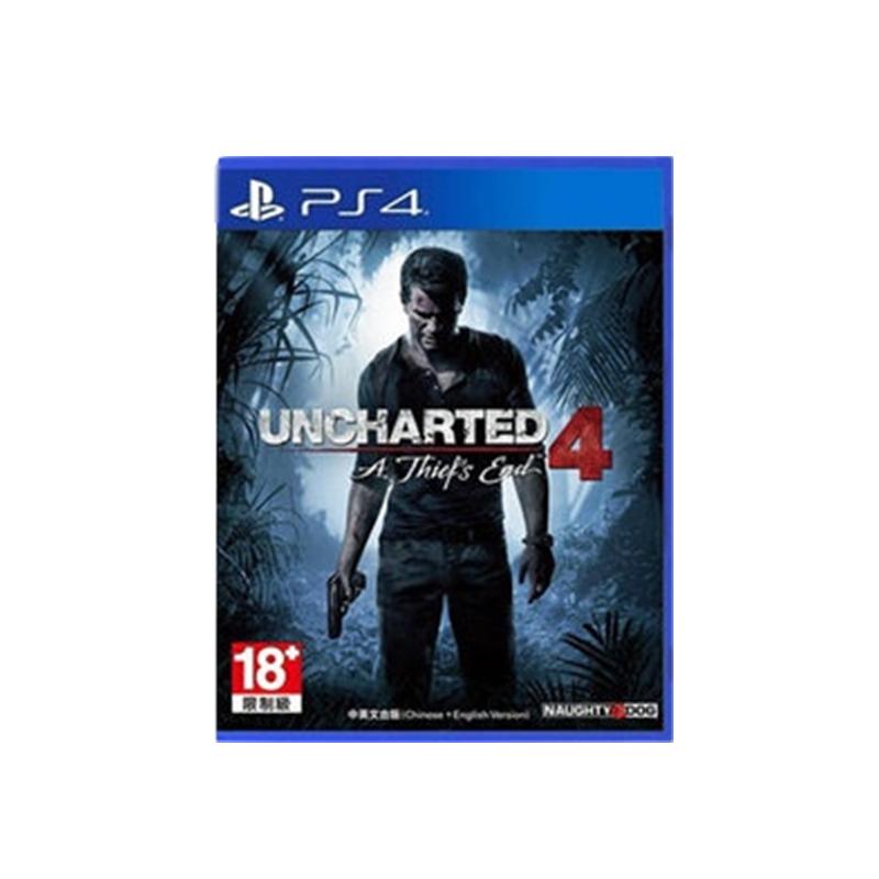 索尼PS4 游戏光盘  神秘海域4  租赁 出租