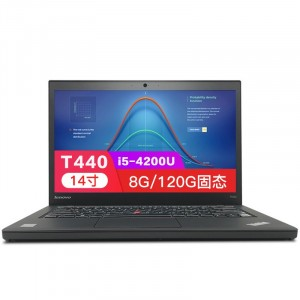租赁 ThinkPad T440 120G固态商务LOL游戏 8G联想笔记本电脑 二手