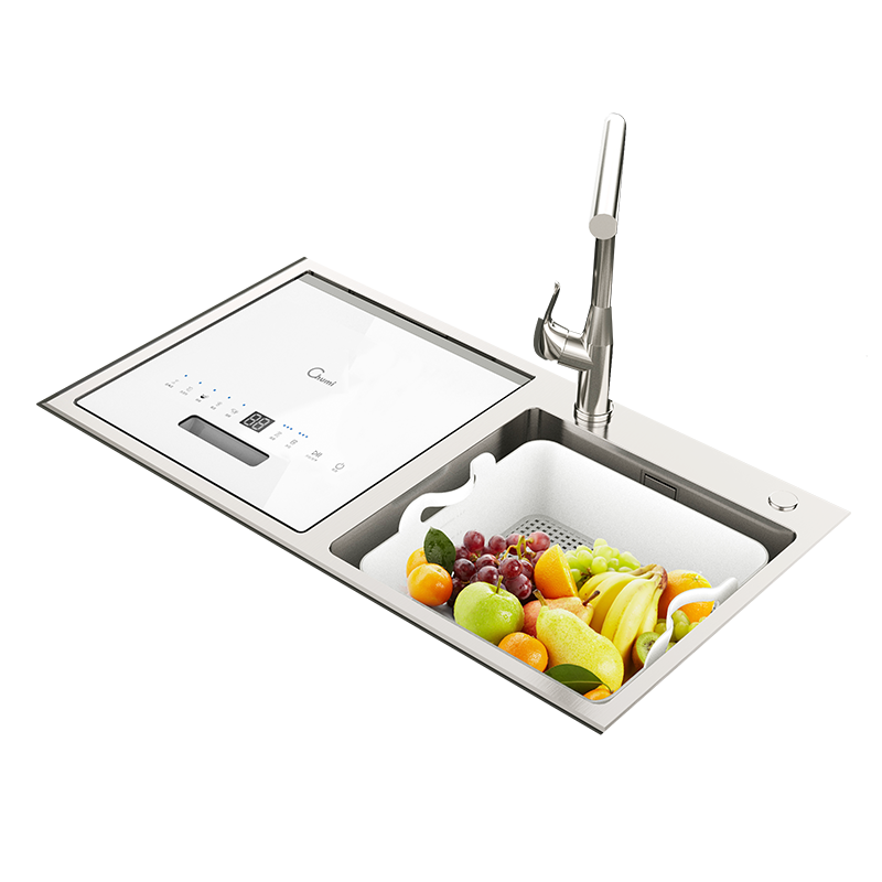 智能水槽式八合一洗碗机
