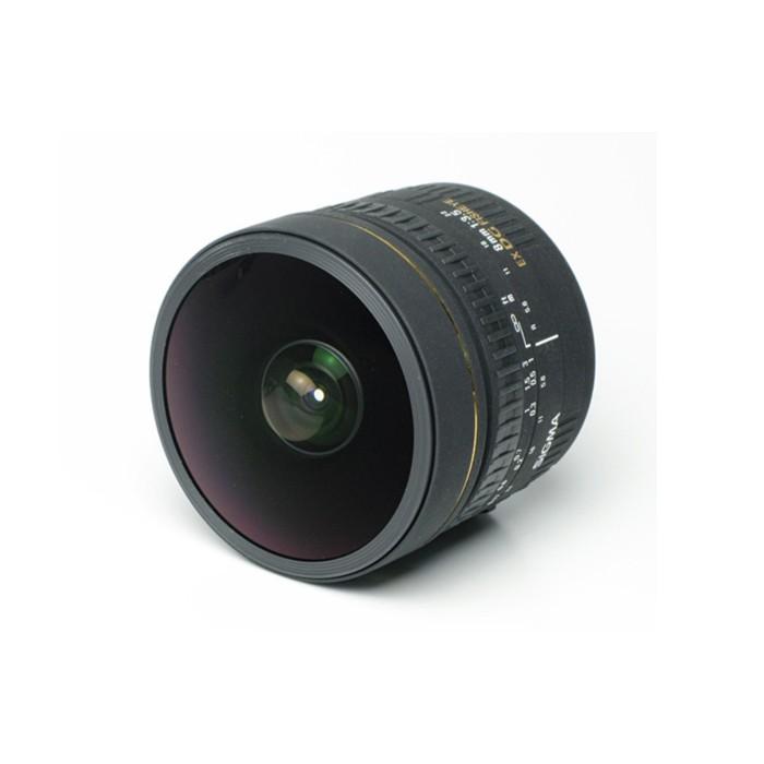 适马8mm f/3.5 EX DG 鱼眼镜头(佳能卡口)
