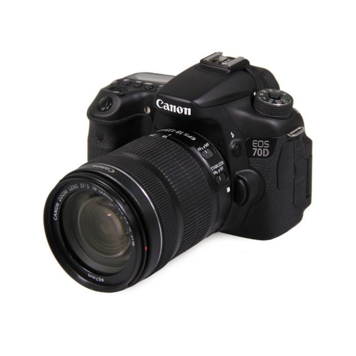 佳能70D相機(含18-135mm鏡頭)