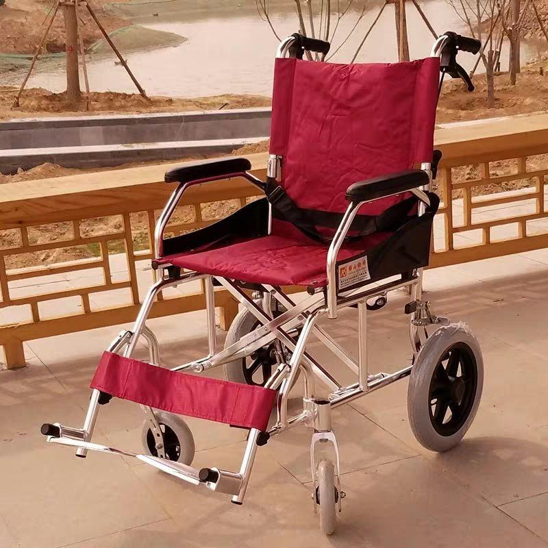 铝合金手推轮椅出租