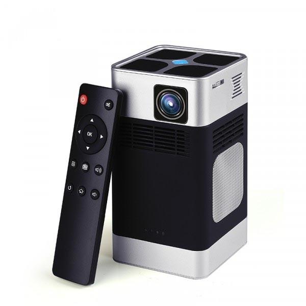 藍納N3 辦公家用投影儀 3D高清大屏 手機無線同屏 移動便攜投影儀