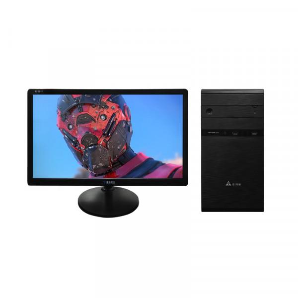 办公狂人K01 E5-2代/8G/120G固态/512M独显/21.5英寸显示器办公台式机  不包邮