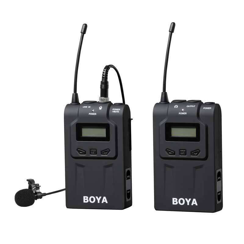 高清晰度采访录音专用小蜜蜂无线麦克风/BOYAWM6