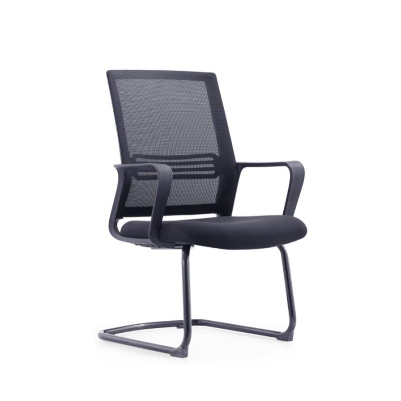 国产网布弓形椅 办公椅 会议椅【全新】