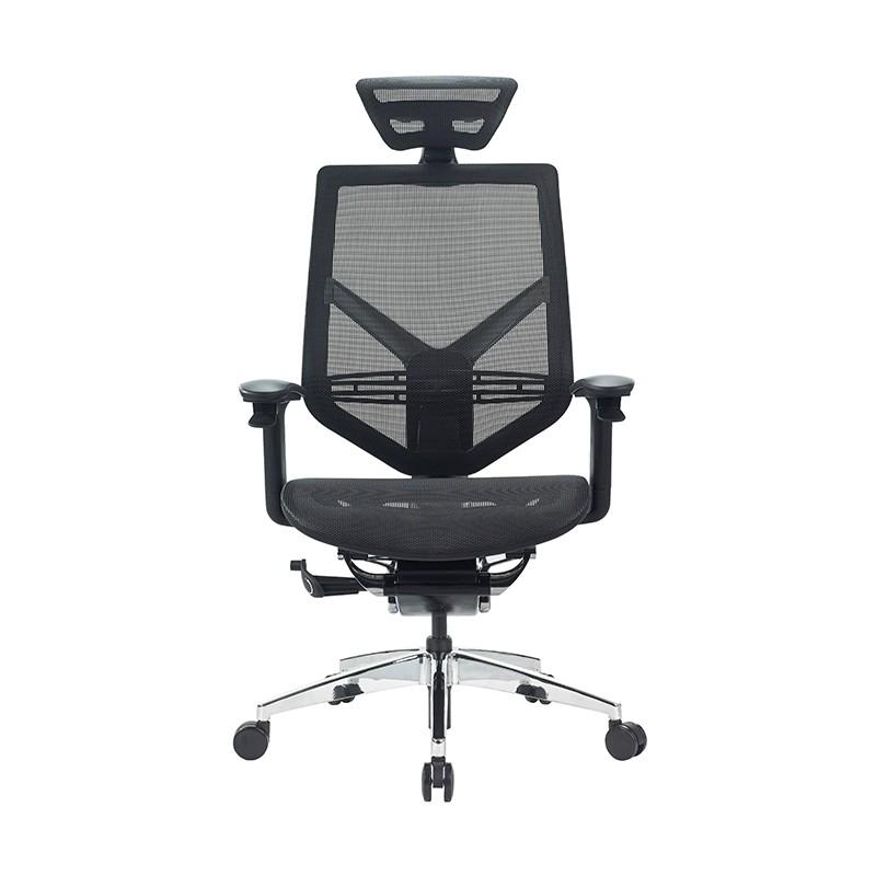 國產網布帶頭枕員工辦公椅 員工轉椅【全新】