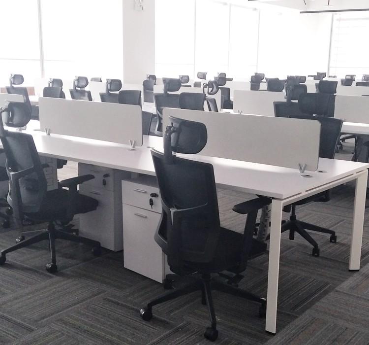 贝壳开放式工位 员工办公桌 电脑桌【二手9成新】