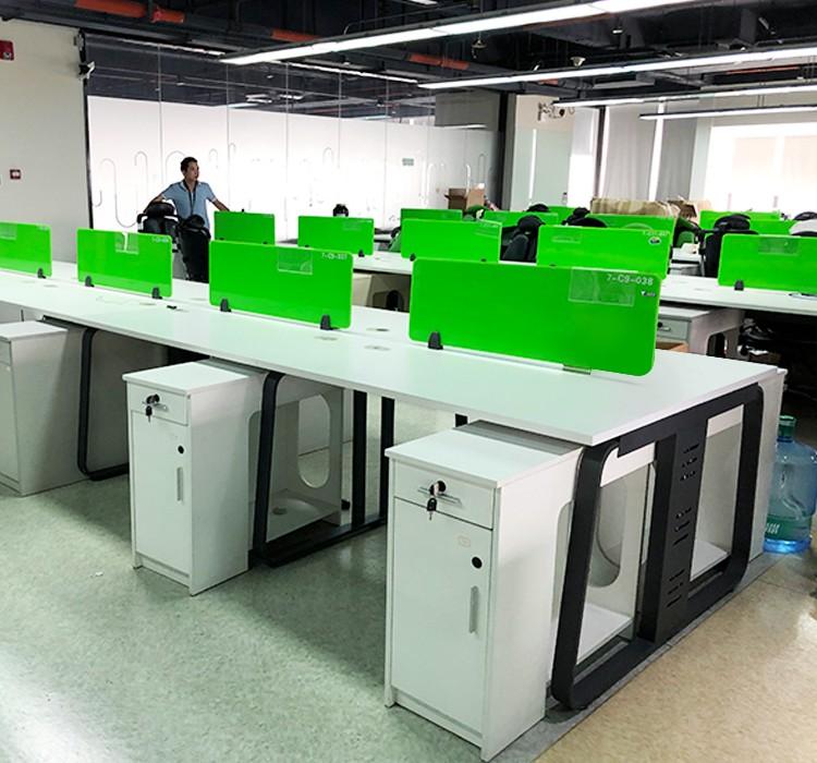 百利开放式员工办公桌 工位 电脑桌【全新】