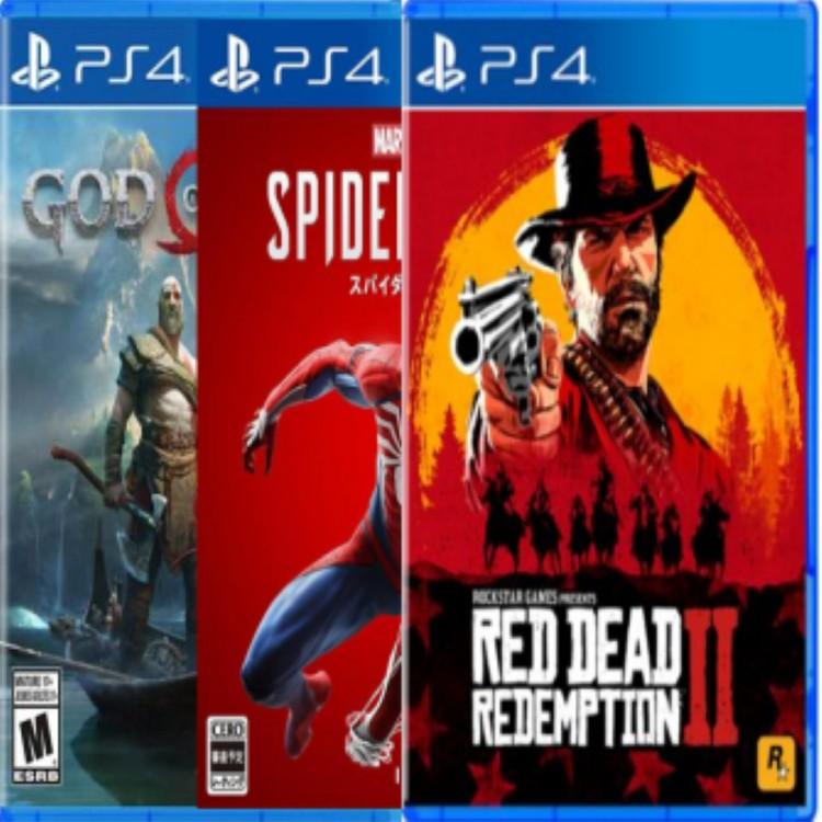 PS4游戏合集部分热门游戏另算