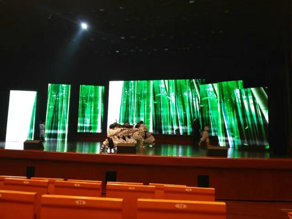 舞台搭建LED大屏租赁婚庆会务LED屏
