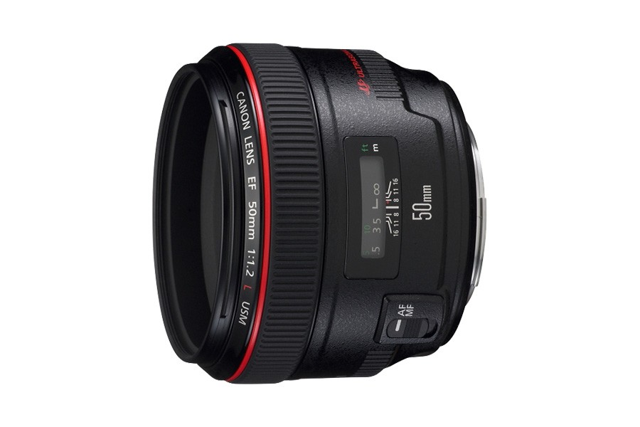 佳能(Canon) EF 50mm f/1.2L USM 標準定焦鏡頭