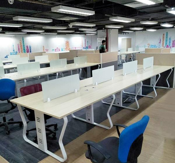 开放式工位+办公椅+活动柜组合套餐