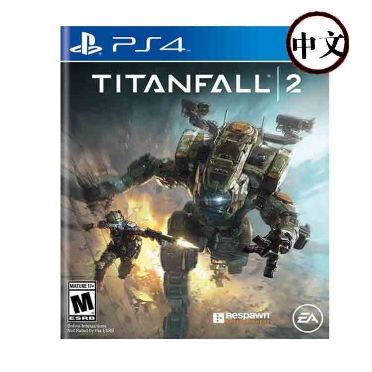PS4游戏光盘泰坦陨落2