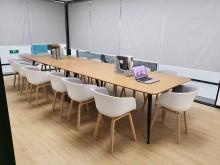 国产直条会议桌洽谈桌办公桌【全新】