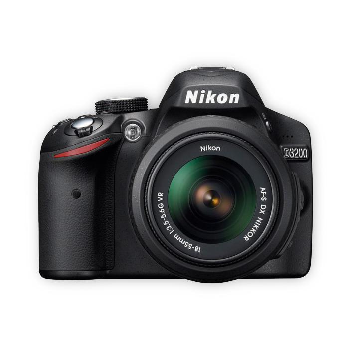 尼康D3200 18-55MM 18-200MM 50 1.8鏡頭套機