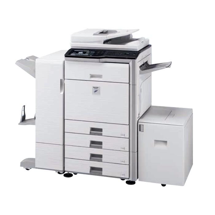 上海 夏普MX503 数码黑白复合机 扫描/打印/复印  95新