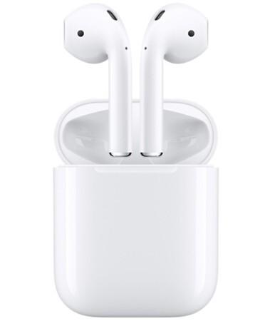【国行全新原封】苹果 Apple AirPods 配无线充电盒 苹果蓝牙耳机 超24小时续航,智慧生活,妙不可言!