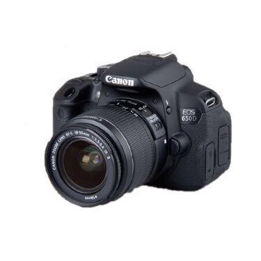 9新 佳能Canon650D 二手单反相机 (含镜头 )