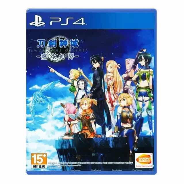 PS4刀劍神域虛空幻界游戲光碟